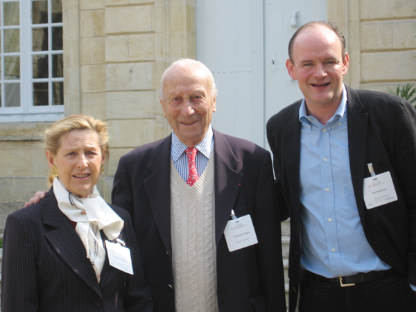 Mr. & Mrs. Thierry Manoncourt - Owner of Château Figeac
