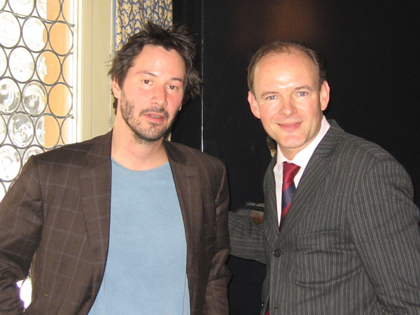Keanu Reeves - Actor «Martix»