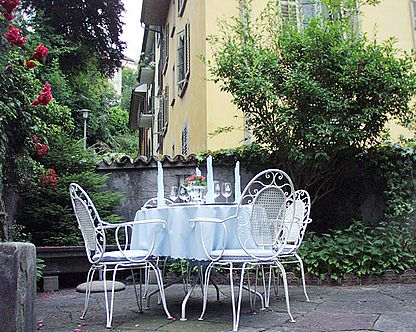 Rosengärtchen - Restaurant Old Swiss House Luzern